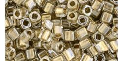 TC03 #989 Хрусталь золотая внутренняя линия (Артикул снят с производства!)