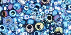 TX01-3204: Микс Yumi барвинок, голубой