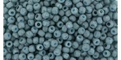 TR11 #2605F полупрозрачная запылённая голубая бирюза