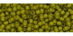 TR11 #246FM матовый черный бриллиант внутренний цвет непрозрачный желтый