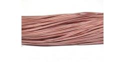 Сутаж 442040 шоколадно-розовый ширина 4мм