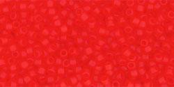 TR15 #5F прозрачно-матовый светлый сиам рубин