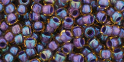 TR11 #927 светлый топаз внутрений цвет непрозрачный фиолетовый
