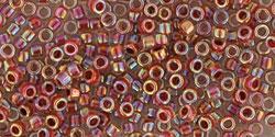 TT01 #784 радужный кристалл внутренний цвет гранатовый песок