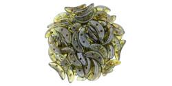 391-310-65431 CzechMates Crescent 3/10mm Olivine (Прозрачный оливин), 5гр.
