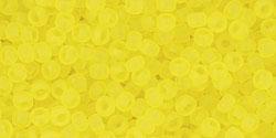 TR11 #12F прозрачный матовый лимон