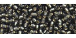 TR11 #29CF матовый тёмный черный бриллиант серебряная внутренняя линия