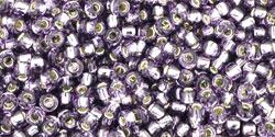 TR11 #39 танзанит серебряная внутренняя линия