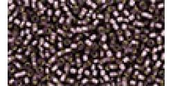 TR15 #26BF матовый средний аметист серебряная внутренняя линия