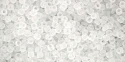 TR15 #1F прозрачный матовый кристалл