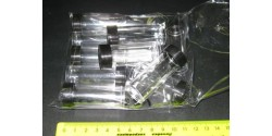 Пузырек с крышкой пластик, упак. 10 шт, арт.CE07021_v