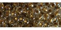 TR15 #989 хрусталь золотая внутренняя линия
