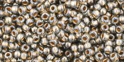 TR11 #993: чёрный бриллиант золотая внутренняя линия