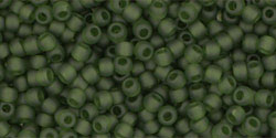 TR11 #940F прозрачно-матовый оливин