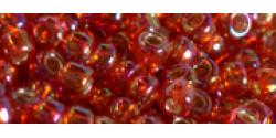 TR11 #2025 радужный рубиновый гиацинт серебряная внутренняя линия