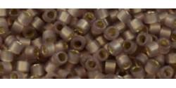 TR11 #2251 молочный лавандово-сиреневый серебряная внутренняя линия