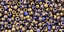 TR11 #1701 позолоченный синий мрамор
