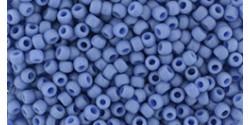 TR11 #2606F непрозрачный матовый запылённый мягкий синий