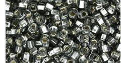 TR11 #29 светлый чёрный бриллиант серебряная внутренняя линия