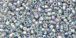 TT11 #176 прозрачный радужный черный бриллиант