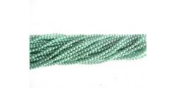 Искусственный жемчуг цвет морской волны 4мм, 50шт. (Чехия)