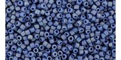 TR15 #2636F непрозрачный радужный матовый запылённый мягкий синий