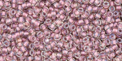 TR15 #267 хрусталь внутренний цвет розовое золото