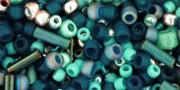 TX01-3222: Микс Tatsu зеленовато-голубых оттенков