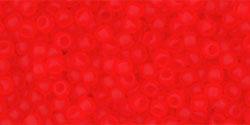 TR11 #5F прозрачный матовый светлый сиамский рубин