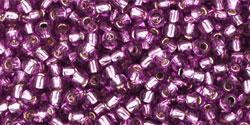 TR11 #2219 светло-виноградный серебряная внутренняя линия