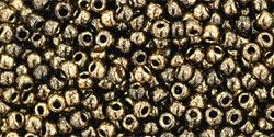 TR11 #1706 позолоченный черный мрамор