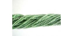 Искусственный жемчуг зелёный травяной 4мм, 50шт. (Чехия)