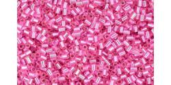 TR11 #2216 ярко-розовый серебряная внутренняя линия