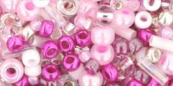 TX01-3214 Микс Sakura вишневых оттенков