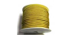 Сутаж 4026  жёлтое золото ширина 4мм