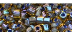 TC01 #926 светлый топаз внутрений цвет непрозрачный лавандовый