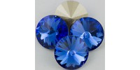 Swarowsky Rivoli Crystal 206 Suphire12mm