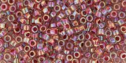 TT01 #771 радужный хрусталь внутренний цвет клубника