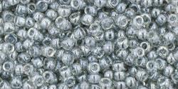 TR11 #112 прозрачный глянцевый чёрный бриллиант
