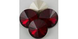 Swarowsky Rivoli Crystal 208 Siam 14mm