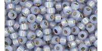 TR08 #2122 молочный александрит серебряная внутренняя линия