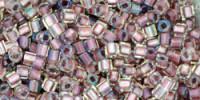TC01 #267: хрусталь внутрений цвет розовое золото