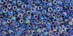 TR11 #774 радужный кристалл внутренний цвет виноград