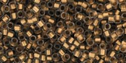 TT01 #989F матовый хрусталь золотая внутренняя линия