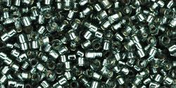 TT01 #29 чёрный бриллиант серебряная внутренняя линия