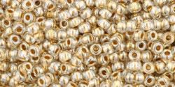 TR11 #989 кристалл золотая внутренняя линия