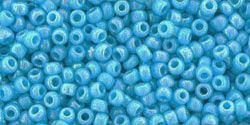 TR15 #403 непрозрачный радужный голубой