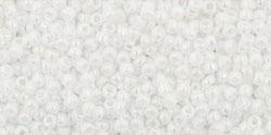 TR15 #401 непрозрачный радужный белый