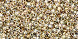 TR15 #262 хрусталь золотая внутренняя линия