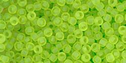 TR11 #4F прозрачно-матовый зеленый лайм
